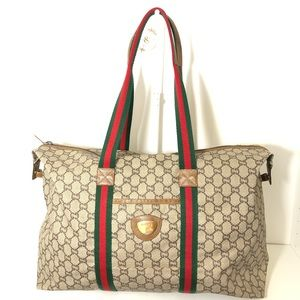 Authentic Gucci GG Plus Travelling Bag